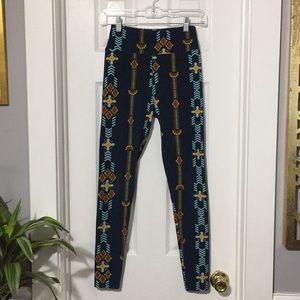 🛎LuLaRoe leggings one size fits all Aztec (bb)